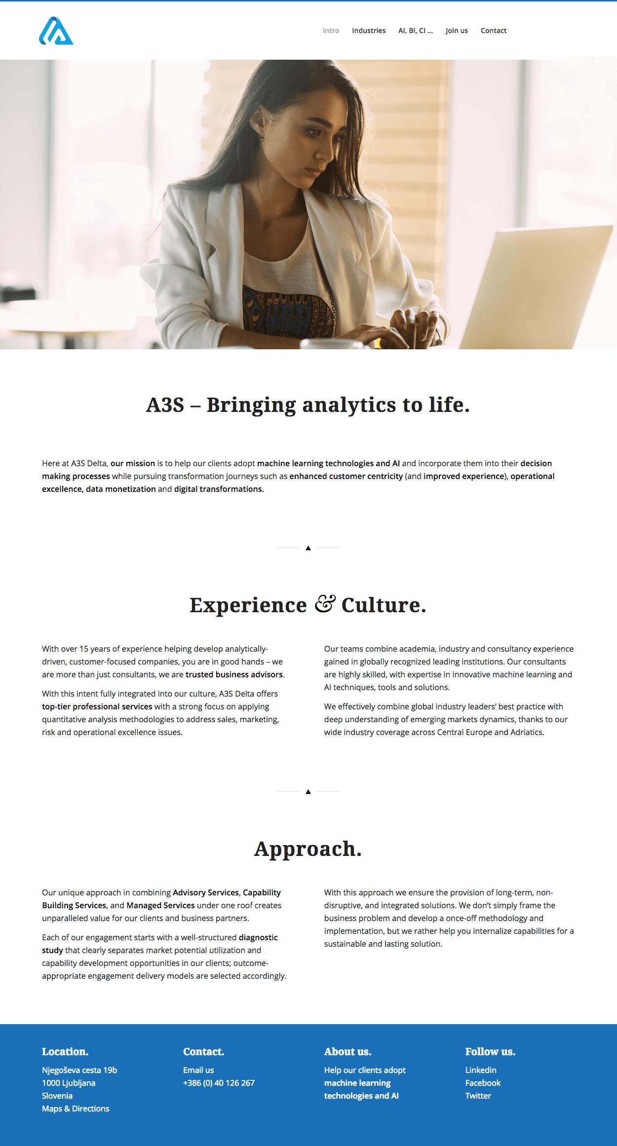 A3S - Home