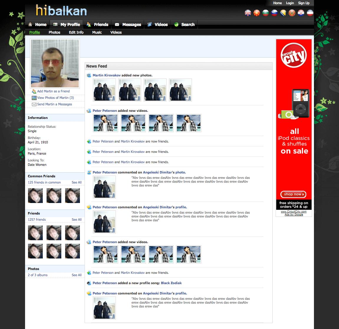 HiBalkan Profile